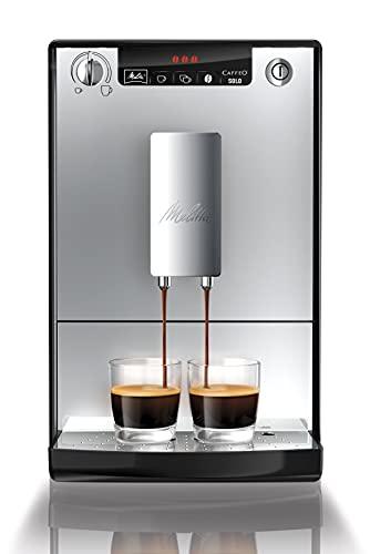 Melitta Caffeo Solo E950-103 Schlanker Kaffeevollautomat mit...