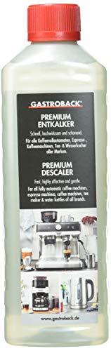 Gastroback 98175 Premium-Entkalker, 500 ml, für hochwertige...