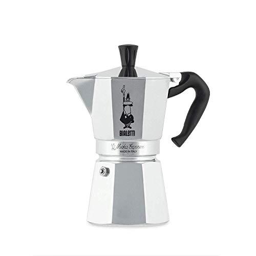 Bialetti Moka Express Espressokocher, Aluminium, metallic, 6...