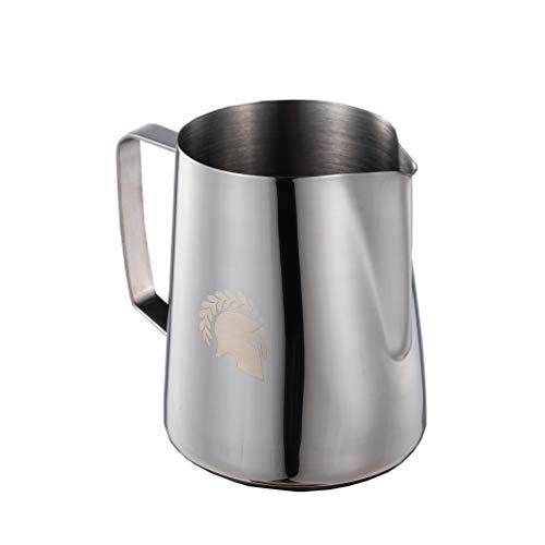 Barista Legends Latte Art Milchkännchen Kronos Silber Profi...