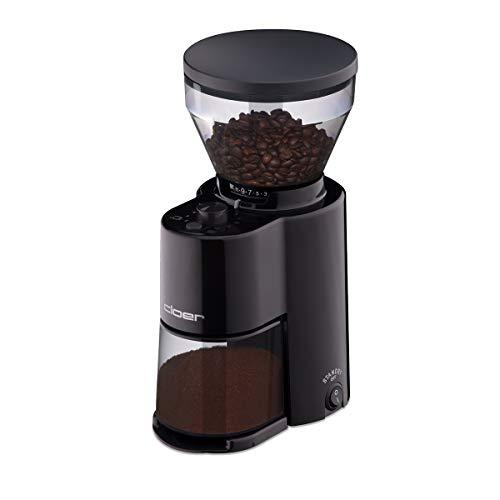 Cloer 7520 Elektrische Kaffeemühle mit Kegelmahlwerk,...