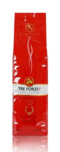 TRE FORZE! Espresso Caffè - Bohnen 1kg - Traditionelles...