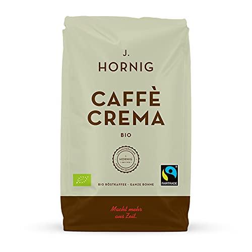 J. Hornig Kaffeebohnen Bio & Fair Trade, Caffè Crema Bio,...