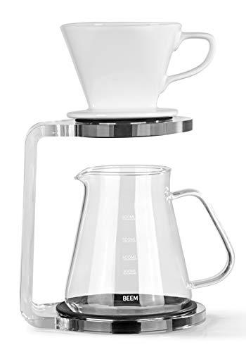 BEEM Pour Over Kaffeebereiter Set - 5 Tassen | Classic...