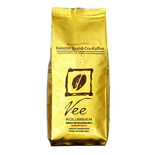 KOLUMBIEN 'Milder Hochlandkaffee' - ENTKOFFEINIERT 500g