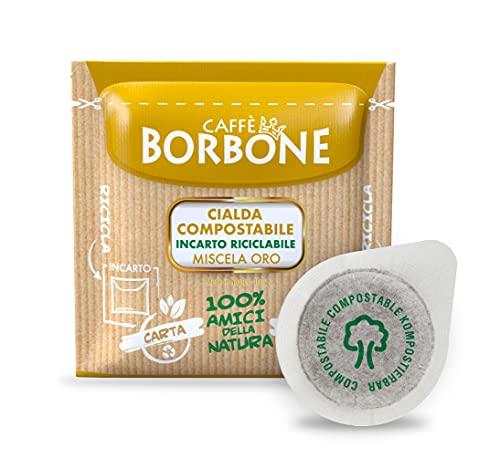 Caffè Borbone Kaffee Kompostierbare Pods, Recyclebare...