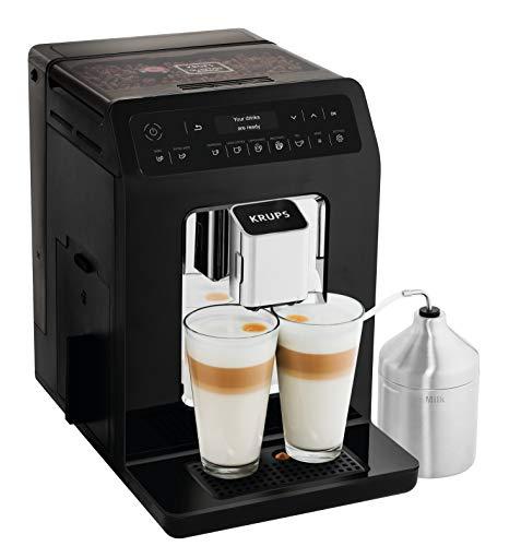 Krups EA8918 Evidence Kaffevollautomat, OLED-Display Barista...