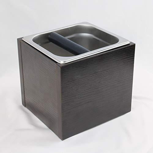 iKALULA Abklopfbehälter für Siebträger, Kaffeesatz...