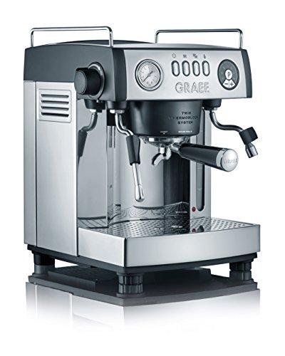 Graef ES902EU Espressomaschine, Aluminium,...