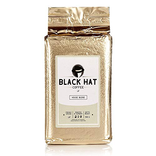 BLACK HAT COFFEE House Blend – Premium Filter-Kaffee aus...