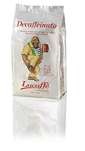 LUCAFFÈ Caffe Decaffeinato, 100% Arabica Kaffeebohnen,...