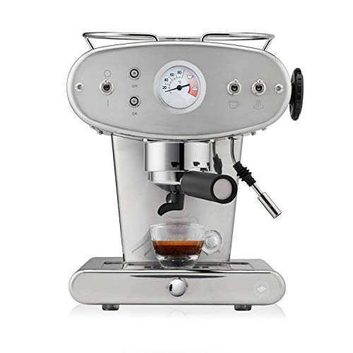 illy Kaffee, E.S.E. Pads Kaffeemaschine X1 Trio - Inox
