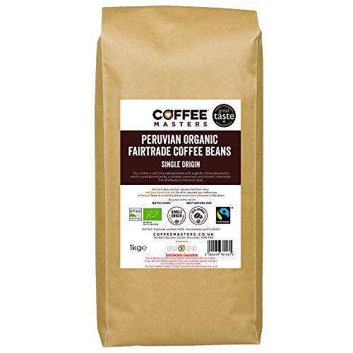 Coffee Masters Peruanisch, Bio, Fairtrade, Kaffeebohnen 1kg...