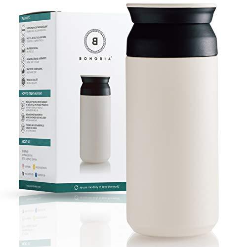 BOHORIA® Premium Edelstahl Kaffee-to-Go-Becher –...
