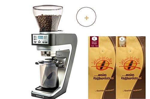 Baratza Sette 270 Kaffee-/Espressomühle grau/schwarz mit 2...