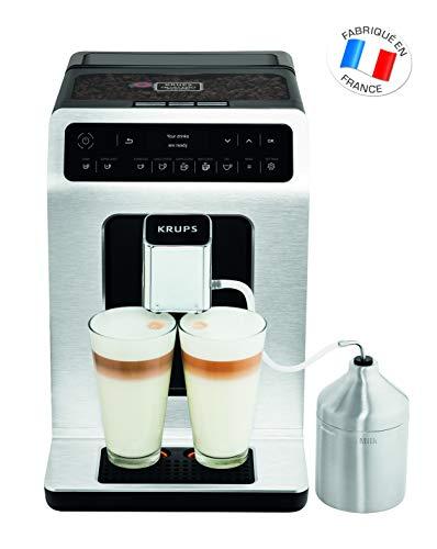 Krups EA891D Evidence Kaffevollautomat, Barista Quattro...