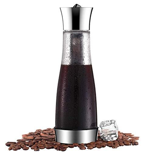 Glaskaraffe Kaffeebereiter für Cold Brew...