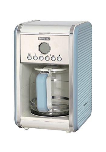 Ariete 1342 1342BL 12-Tassen-Kaffeemaschine Vintage, 2000 W,...