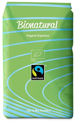 Bionatural Bio Fairtrade Kaffee-Espresso ganze Bohne by J....