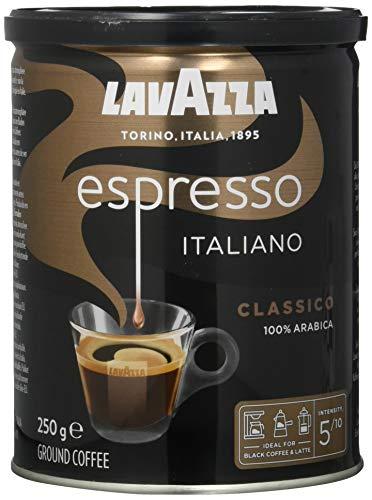 Lavazza Gemahlener Kaffee - Caffè Espresso - 100 % Arabica...