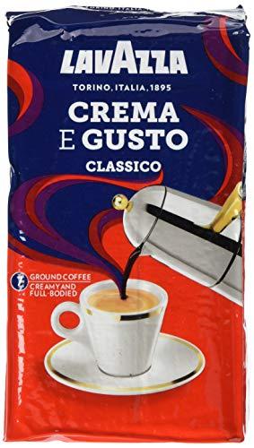 Lavazza Gemahlener Kaffee - Crema E Gusto - 10er Pack (10 x...