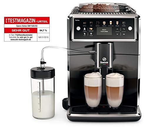 Saeco SM7580/00 Kaffee-automat, Klavierlackfront...