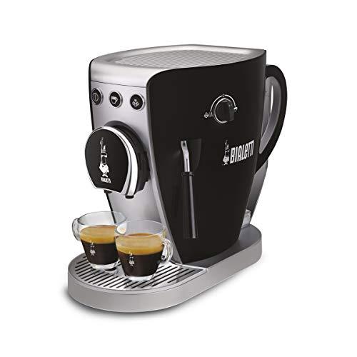 Bialetti Tazzissima Kaffeemaschine, offenes System schwarz