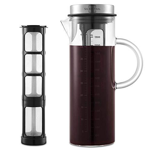 SILBERTHAL Kaffeebereiter - Cold Brew Coffee Maker für...