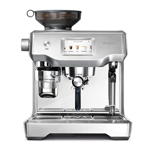 Sage Appliances SES990 Espresso-Maschine, Edelstahl,...
