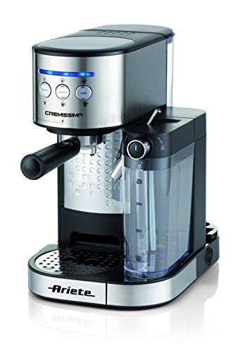Ariete 1384Kaffeemaschine Espresso cremissima Edelstahl,...