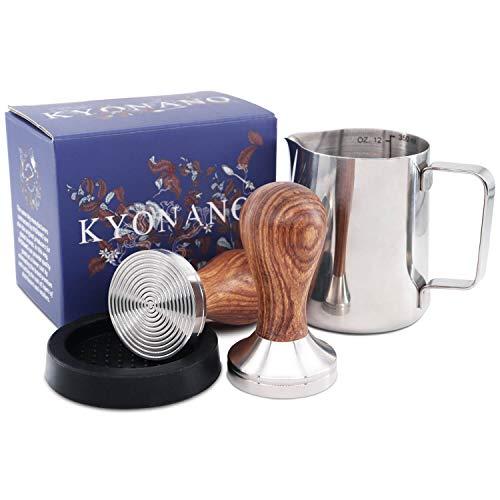 KYONANO Espresso Tamper 51 mm, Kaffee Tamper aus...