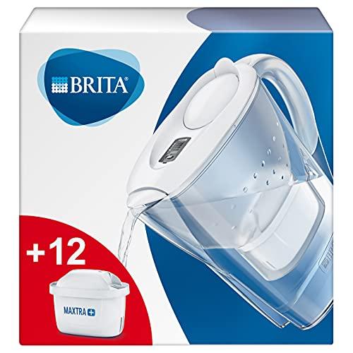 BRITA Wasserfilter Marella weiß inkl. 12 MAXTRA+...