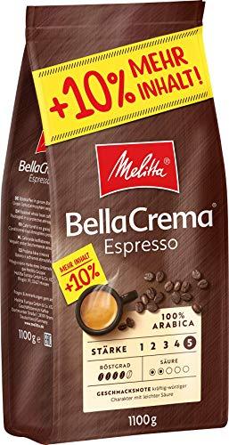 Melitta Ganze Kaffeebohnen, 100% Arabica, kräftig-würziger...