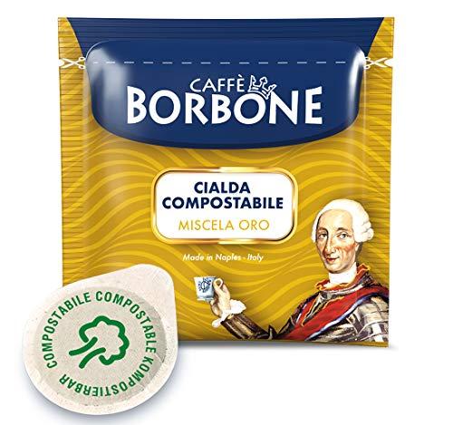 Caffè Borbone Kaffee Kompostierbare Pods, Gold Mischung -...