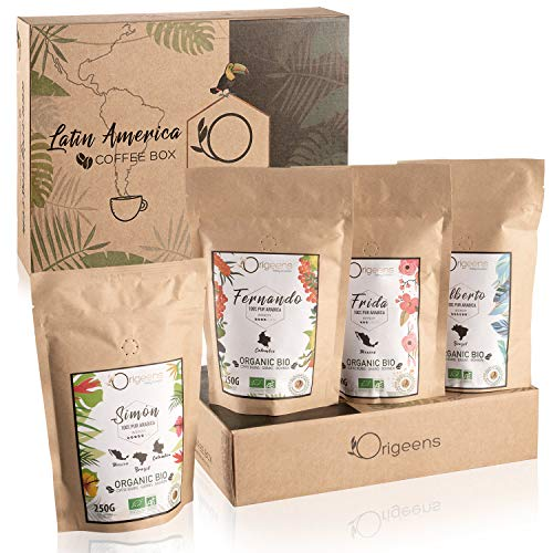 ☘️ BIO Kaffeebohnen Probierset 1kg | Premium Arabica...