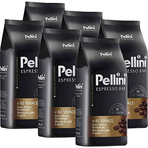 Pellini Espresso Bar N° 82 Vivace 6 x 1kg Kaffee ganze...