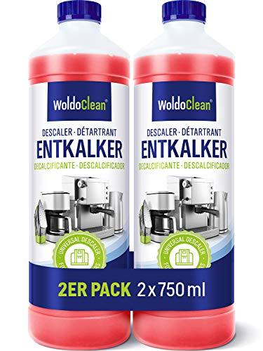 Entkalker für Kaffeemaschine & Kaffeevollautomaten 2x 750ml...