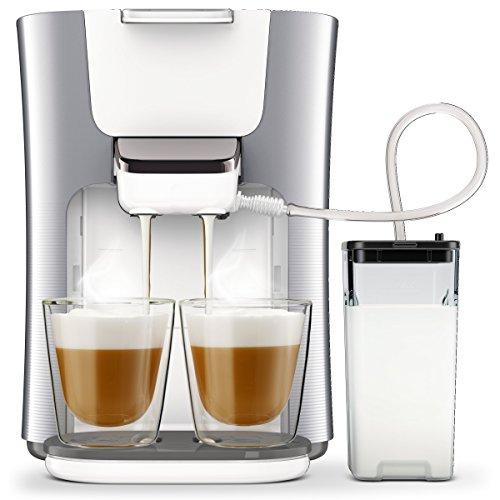 Philips Senseo HD6574/20 Latte Duo Kaffeepadmaschine (2...