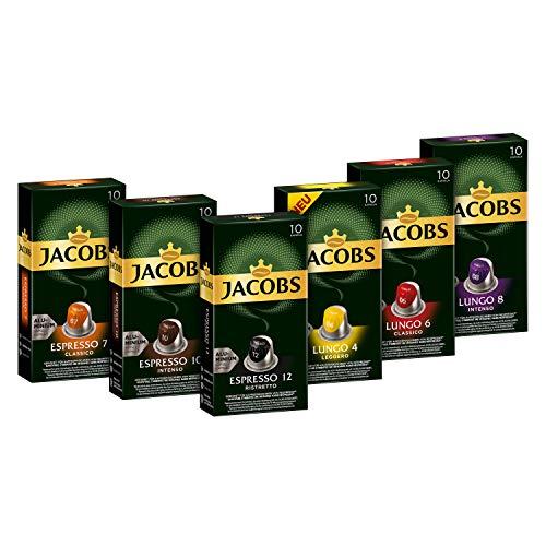 Jacobs Kaffeekapseln, Probierbox Nespresso®* kompatible...
