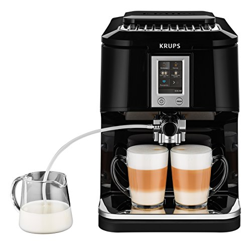 Krups EA8808 Kaffeevollautomat (Two-in-One-Touch Funktion,...
