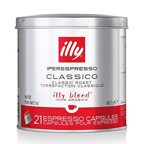 illy Kaffee, Iperespresso Kaffeekapseln Classico, klassische...