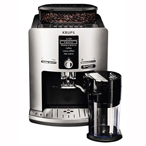 Krups Latt'Espress Quattro Force EA82FE Kaffeevollautomat...