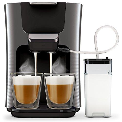 Philips Senseo HD6574/50 Latte Duo Kaffeepadmaschine (2...