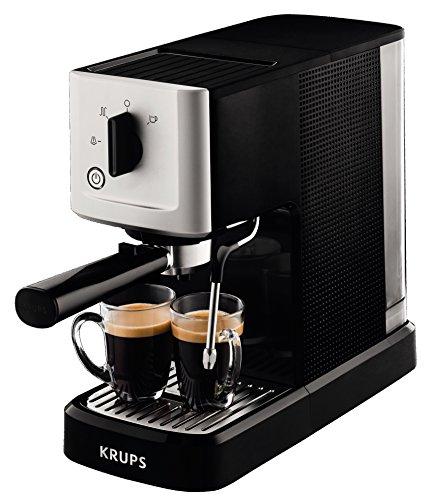 Krups XP3440 XP344010 Espresso-Automat, Edelstahl, 1.1...