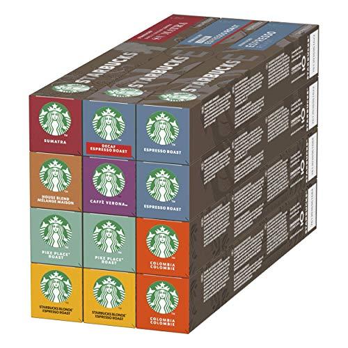 Starbucks By Nespresso Kaffeekapseln Probierset, 120 Kapseln...