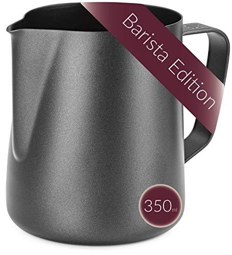 Lambda Coffee® Milchkännchen 350ml Edelstahl für Barista...