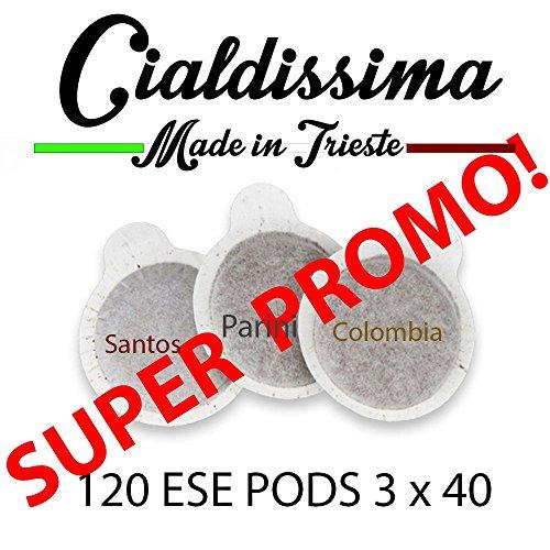 Cialdissima 120 ESE Pods – drei verschiedene Mischungen...