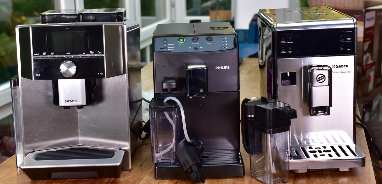 Kaffeevollautomaten zum Testen