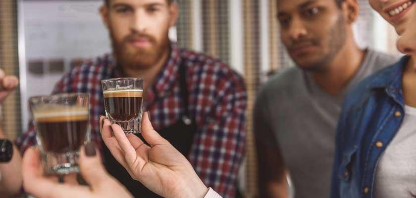 Kaffee Bewertung von Experten