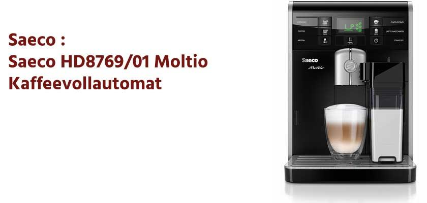 Saeco HD8769/01 Moltio Kaffeevollautomat